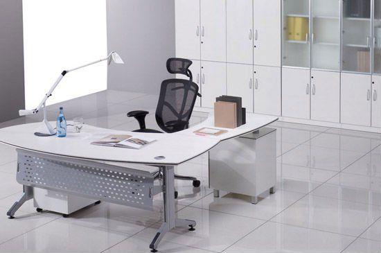 Oficinas Modernas Blancas