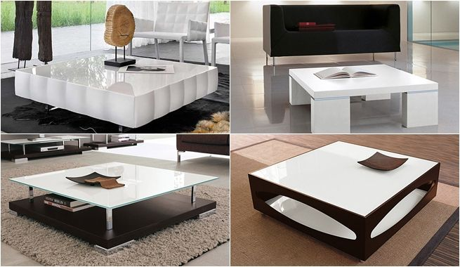 Tendencias en mesas de salas modernas - Figuras decorativas modernas ...