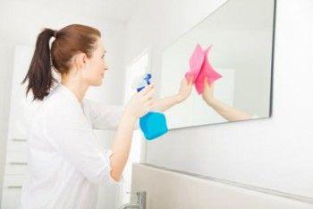 Trucos para limpiar los espejos en el hogar