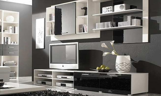 Utilizando todos los espacios en la decoración del hogar.