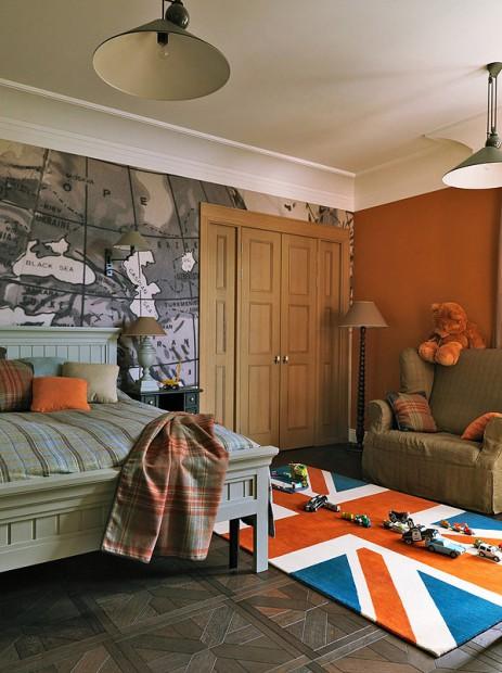 apartamento en Moscú dormitorio