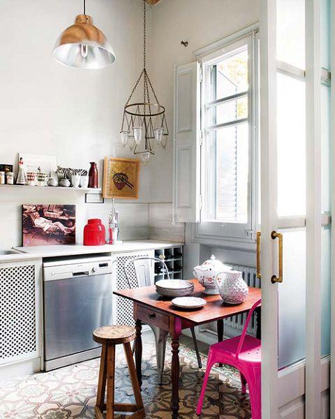 Ideas para cocinas peque as vintage for Lo ultimo en decoracion