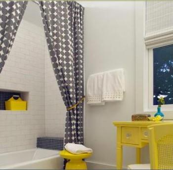 cortinas de baños modernos