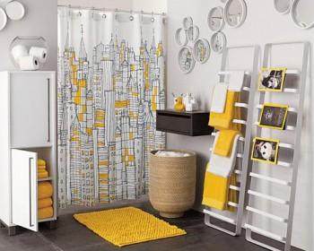 cortinas para baños modernos