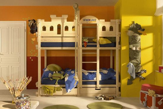 Ideas de cuartos infantiles temáticos