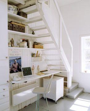 espacio bajo las escaleras