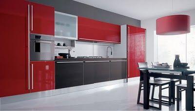 Ideas y mejora de cocinas modernas minimalistas