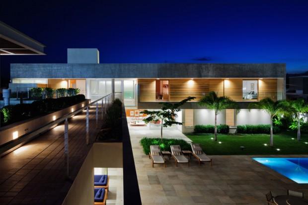 modernas viviendas jardín