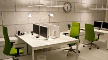 oficinas minimalistas industriales