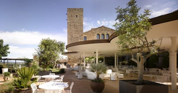 restaurante del Hotel Castell D'emporda 1