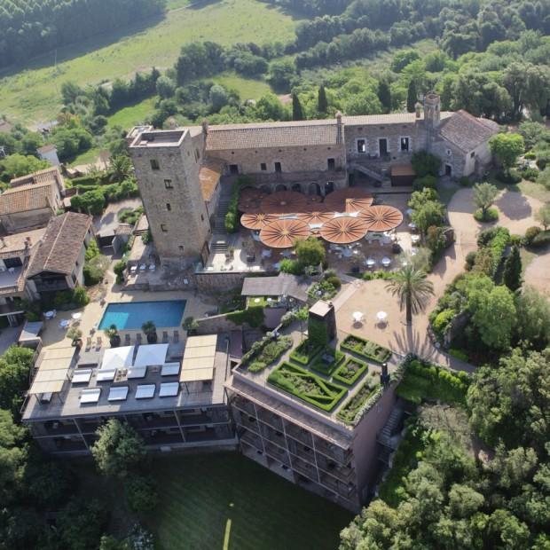 restaurante del Hotel Castell D'emporda
