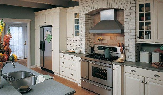 Aumentando el estilo en la cocina utilizando elementos decorativos..