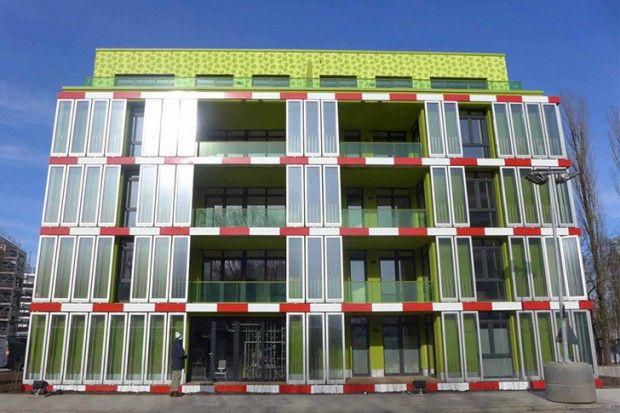 BIQ House fachada