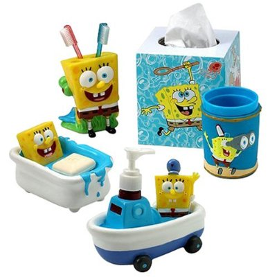 Baños infantiles Bob Esponja 2