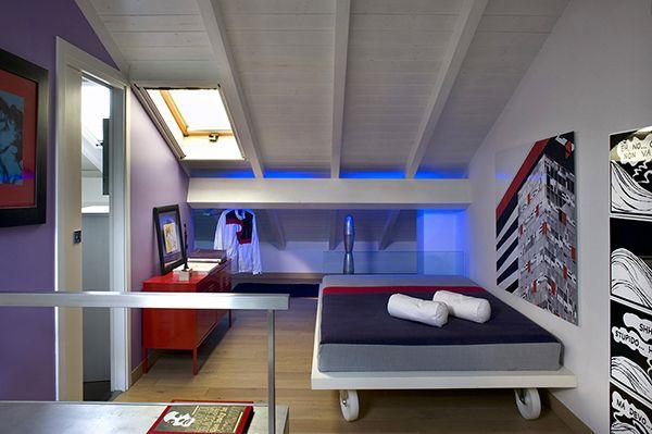 Casa Italiana dormitorio