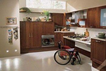 Cocinas con accesibilidad para personas discapacitadas