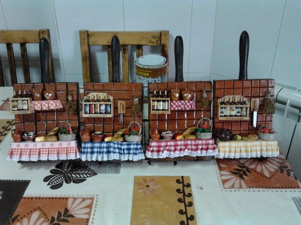 Cocinas decoradas con tablas de madera 4