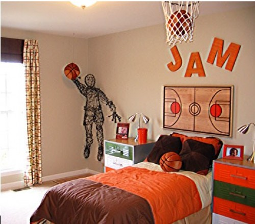 Decoración dormitorio NBA 2