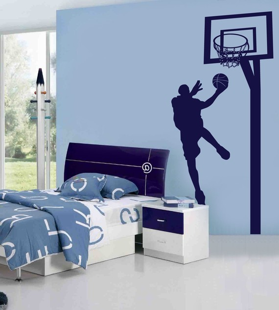 Decoraci 243 N Dormitorio Nba