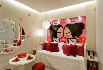 Decoracion de dormitorios inspiracion Pucca