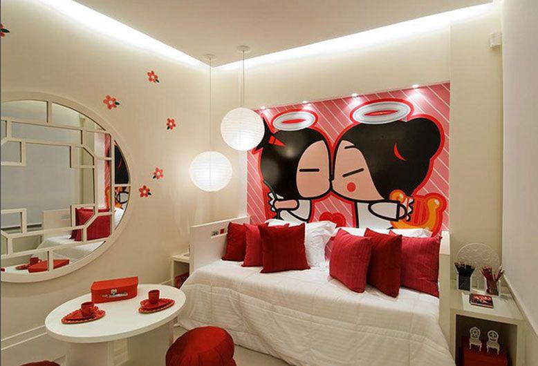 Decoraci n de dormitorios inspiraci n pucca for Modelos de decoracion de dormitorios