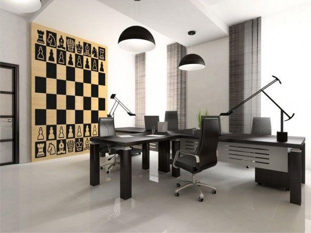 Decoracion de interiores inspiracion ajedrez 4