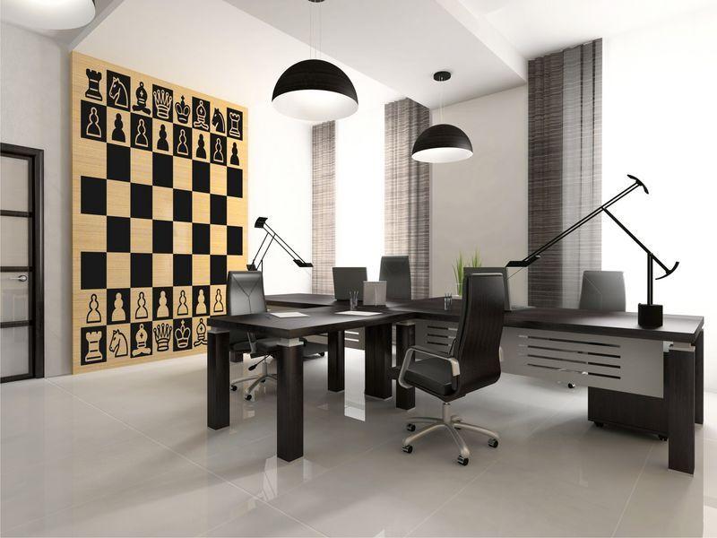 Decoraci n de interiores inspiraci n ajedrez for Tablero de decoracion interior
