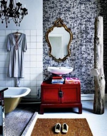 Detalles vintage para tu baño 3