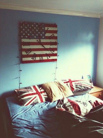 Dormitorio estilo British