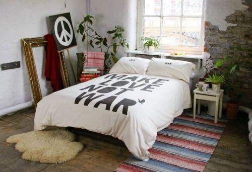 Dormitorio estilo hippie - Decoracion hippie habitacion ...