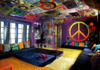 Dormitorio estilo hippie 3