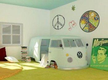 Dormitorio estilo hippie 4