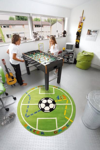 Dormitorio infantil temática futbol 5
