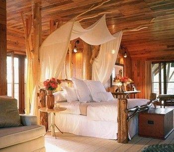 Dormitorios decorado a lo natural