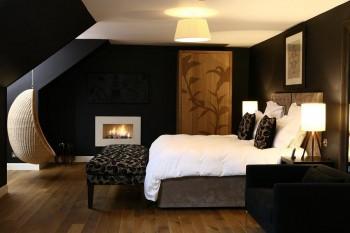 El color negro en la decoración del hogar