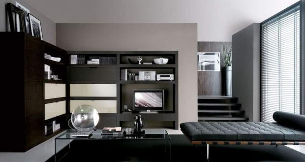 El color negro en la decoración del hogar.