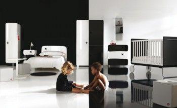 El color negro en la decoracion infantil