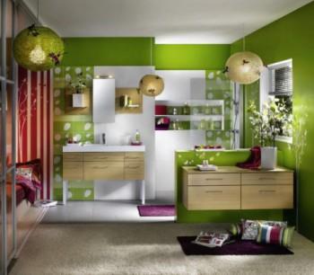 El color verde en la decoración