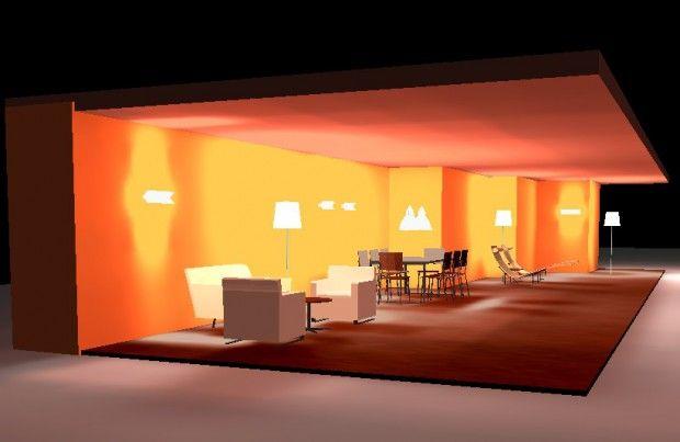 El uso de las luces en el exterior de la vivienda.