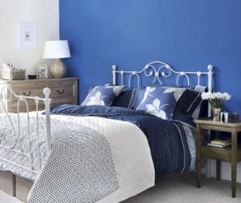 El uso del color azul en la decoración