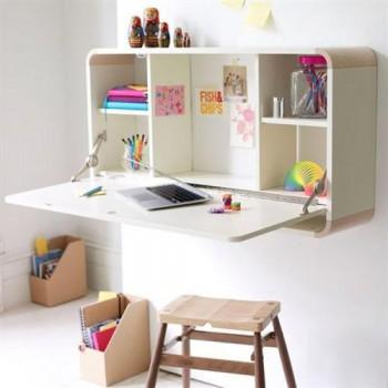 Escritorios practicos para espacios pequeños