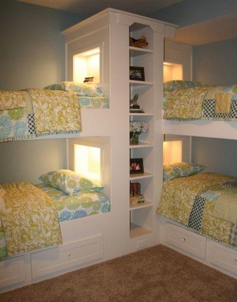 Ideas de dormitorios para 4 - 1