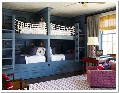 Ideas de dormitorios para 4 - 2