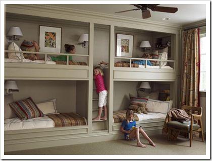 Ideas de dormitorios para 4 - 3