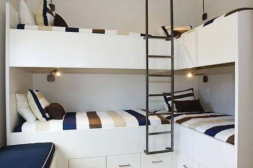ideas de dormitorios para 4 personas
