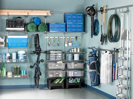 Ideas para la limpieza del garaje for Arredamento garage ikea
