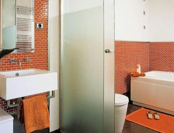 Ladrillos de vista para decorar baños
