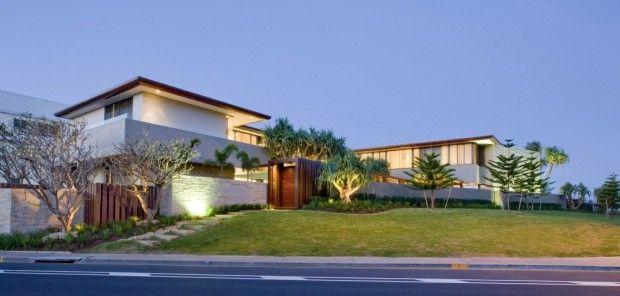 Moderna residencia australiana fachada