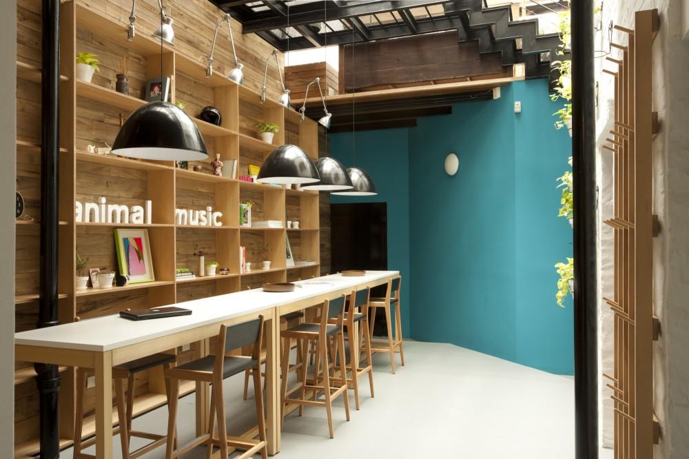 Animal musi edificio para una productora musical - Diseno de interiores trabajo ...