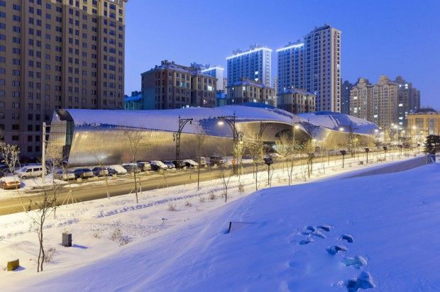Moderno museo chino